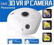Панорамная ip Камера 360 градусов для удаленного мониторинга